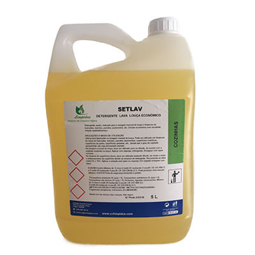SetLav Detergente Manual de Loiça