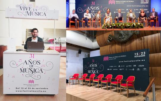 Instinto Creativo para el Festival de Música de Morelia by Bestial Diseño