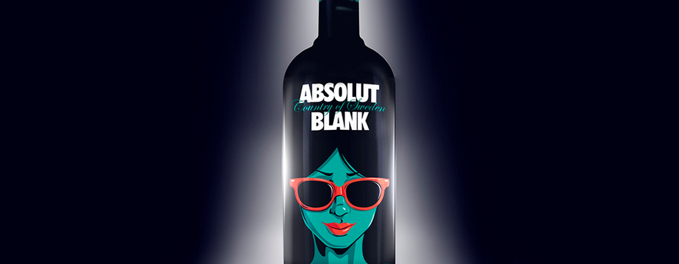 ABSOLUT BLANK & SEXY