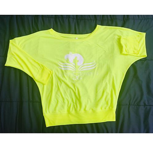 SOTS  Bright Neon Flowy Bella Long-Sleeve Shirt