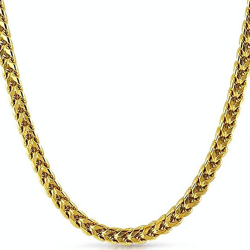 NEW HIGH POLISHED FRANCO 6MM CHAIN GOLD