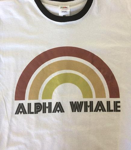 Ringer Shirt - Alpha Whale