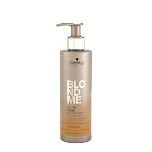 Schwarzkopf BLONDME Blush Wash Apricot 250ml