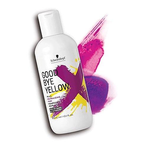 Schwarzkopf Good Bye Yellow Shampoo 300ml