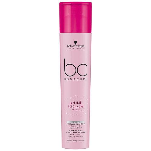 Schwarzkopf Professional BC Color Freeze Silver Micellar Shampoo 250ml