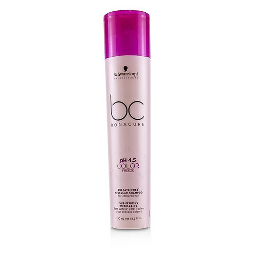 BC Bonacure pH 4.5 Color Freeze Sulfate-Free Micellar Shampoo 250ml