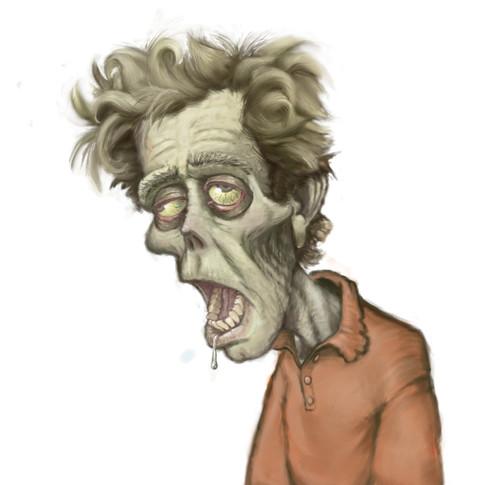 Self Portrait as Zombie