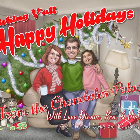 Rowe Family Christmas Card, 2015