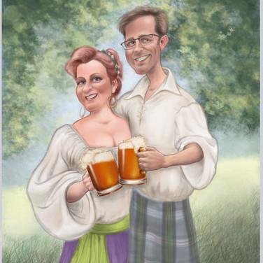 Ken and Dianne at Ren Faire