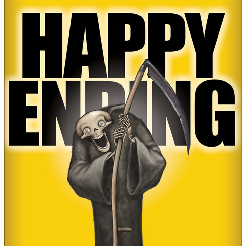 Happy Ending Beer Label