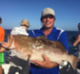 Captain Paul with Red Grouper for Covers