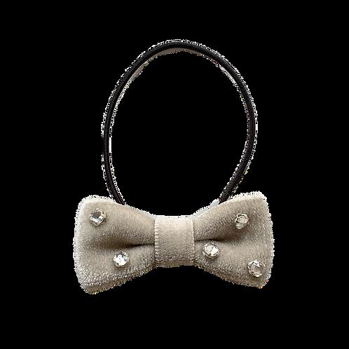 ビーズ刺繍ヘアゴム 5:モスグリーン