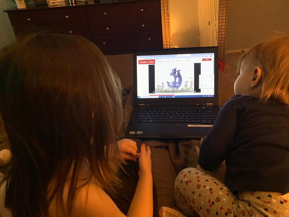 online story telling for kids