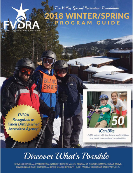 Winter/Spring Brochure is now available!