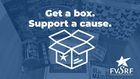 Get a box. Support a cause.