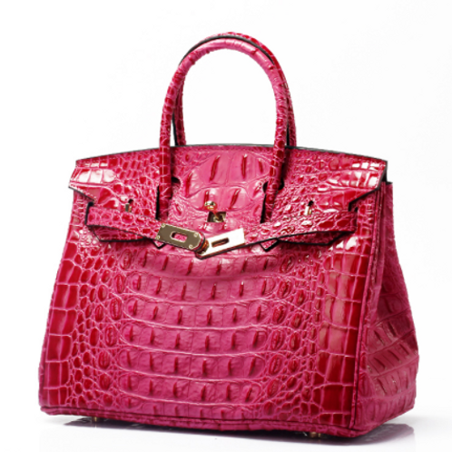 FlavHer Leather Tote- 25cm