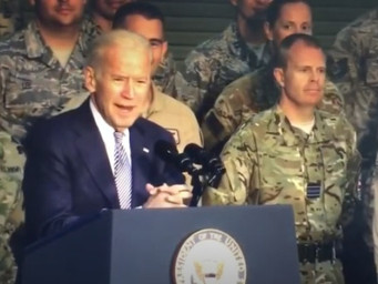 Joe Biden Calls U.S. Military Stupid Bastards During Speech In 2016.