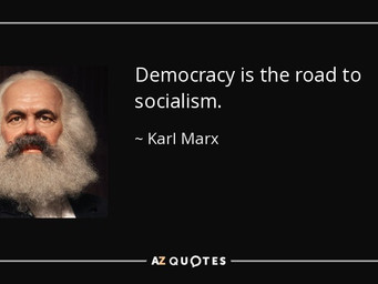 The Term Democracy Is Code word for socialism used by U.S. progressive politicians. The Founding fat