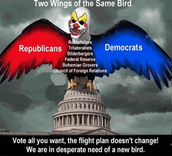 Democrats And Republicans Not Doing The Will Of The American People – Two Sides Of Same Coin.
