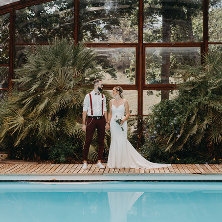 Un reportage photo mariage romantique en Ardèche
