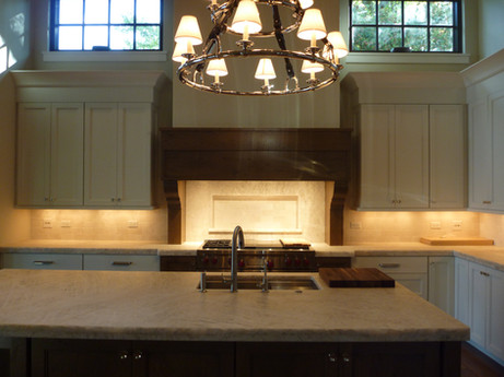 Commercial Range and Hood