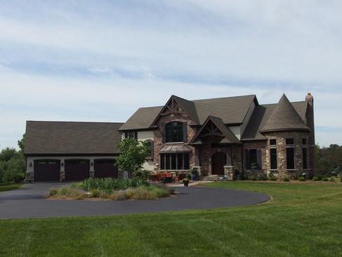 Custom Home north of Crystal Lake