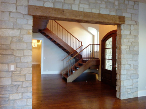 Custom Open-Rise Staircase