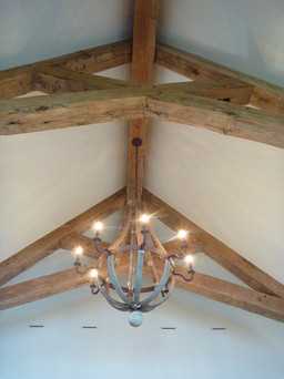 Reclaimed Beams from Vermont
