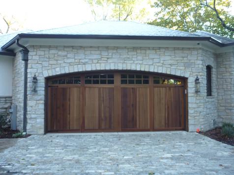 Custom Wood Overhead Door