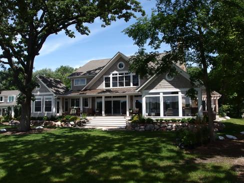 Custom Lakefront Home in Crystal Lake