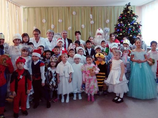 «Новогодняя сказка» в реабилитационном центре «УМИТ»