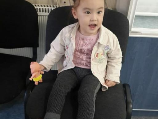 Нурия, 3 годика