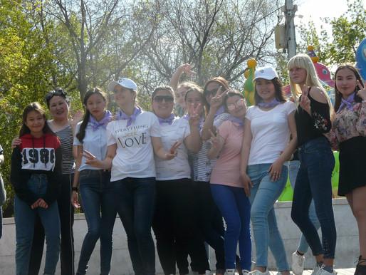 2020 - Год волонтеров в Казахстане