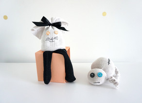 Sock animal/figure