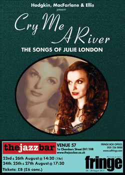 CRY ME A RIVER - Poster small