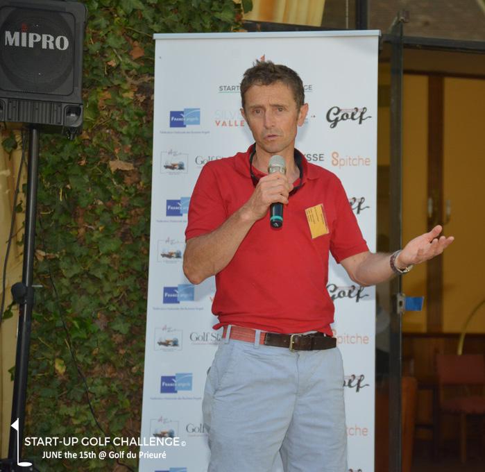 start up golf Bertrand