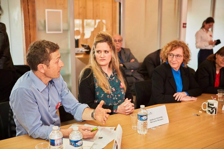 Table Ronde avec la Ministre du Travail sur les nouveaux espaces collaboratifs