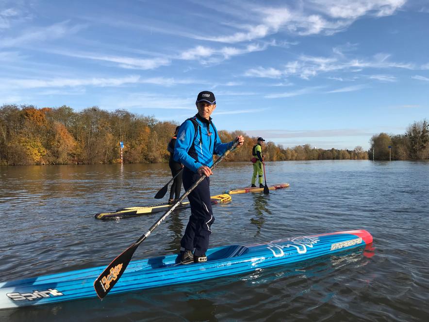 Le stand-up paddle au service du coaching