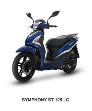 SYMPHONY ST 125 LC