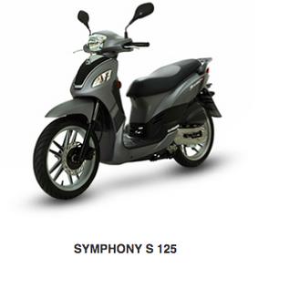 SYMPHONY S 125