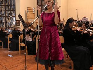 """21.11.18 в 18:00 в церкви """"Воскресения"""" состоялся благотворительный концерт симфонического"""