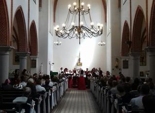 празднование 25-летнего юбилея Евангелическо-Лютеранской общины в городе Черняховске.