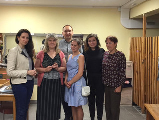 """Гости благотоворительного проекта """" Суп и хлеб"""""""