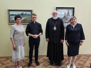 Встреча в Православной Епархии в Черняховске