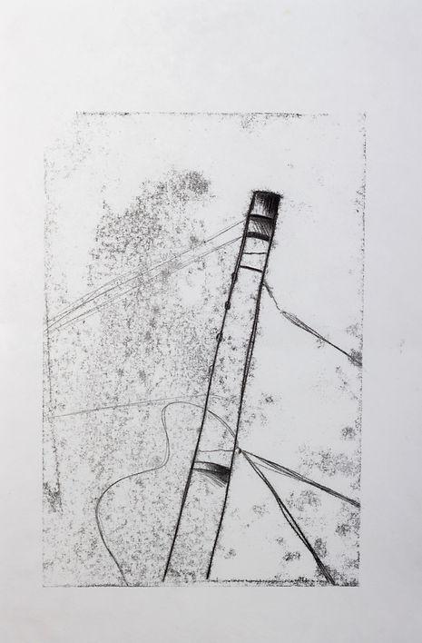 JABBERWOCKY series, 29.7 x 42 cm, monoprint, 2010