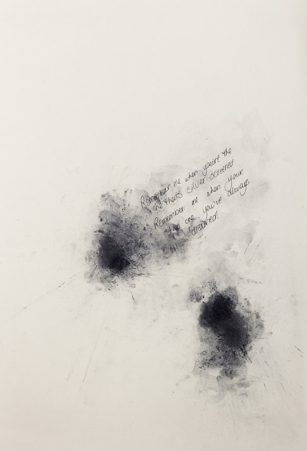 CHAOS vs. ORDER series, 29.7 x 42 cm, charcoal and ink on paper, 2011