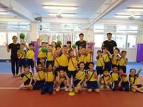 閃避球示範-中華傳道會許大同學校