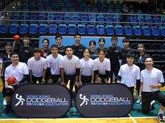 閃避球表演賽-Teqball香港區挑戰賽2021