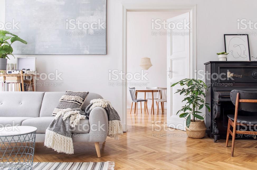 Modernes Scandianvianisches Wohnzimmerde