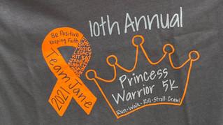 Princess Warrior 5K: Year 10
